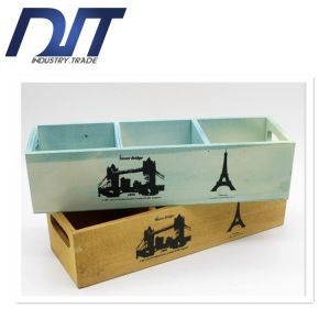 Custom Logo Different Size Available Square Wood Flower Box pictures & photos