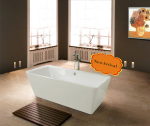 Beautiful Oval Free Standing Bathtub (BF-6608)