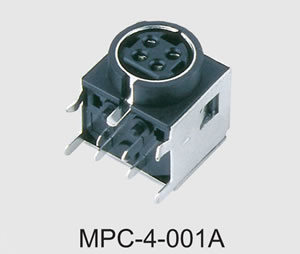 Mini DIN Power Connector (MPC-4-001A) pictures & photos