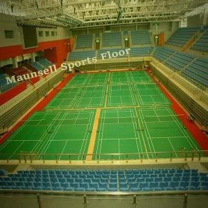Indoor Badminton Vinyl Plastic Flooring Mats pictures & photos