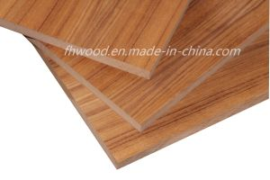 Natural Teak Veneered Both Sides Face and Back MDF pictures & photos