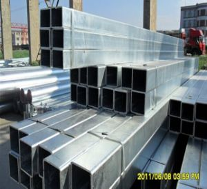 Hot Dipped Galvanized Square Tube with 220g Zinc