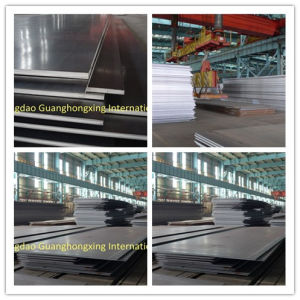 Low Alloy Steel Plate with High Quality Q345, Q390, Q420, S355jr, Ss490