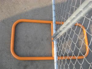 6′x12′ Mesh Opening 57mm X 57mm X 3.00mm Temporary Chain Link Fence Panels pictures & photos
