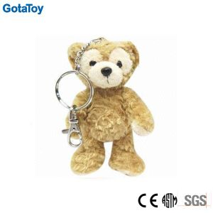 Custom Plush Teddy Bear Keychain Stuffed Soft Toy with Metal Clip pictures & photos