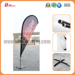 Outdoor Advertising Media Signs Exhibition Scrolling Pull Roll up Display Stand Rectangular Sail Bow Flutter Blade Beach Feather Teardrop Flying Bow Flags