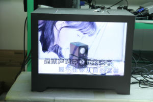 "22"" LCD Transparent Screen for Advertizing Platforms, Gallery & Museum pictures & photos"