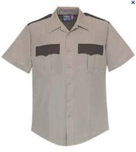 Comfortable Security Short Sleeve Shirt for Men, Security Guard Uniform Sc-19 pictures & photos