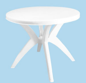 Outdoor Round Plastic Garden Table pictures & photos