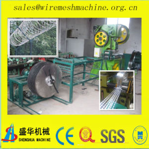 Made in China Razor Barbed Wire Mesh Machine (Nine strips) pictures & photos