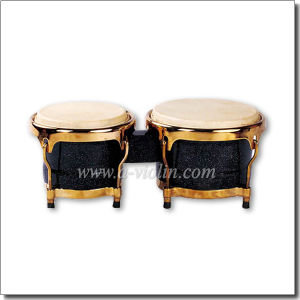 Professional Black Wooden Bongo Drum (ABOLGS100) pictures & photos