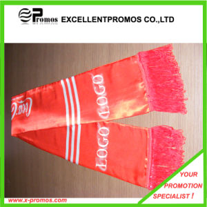 Customized Logo Promotional Silk Scarf (EP-W9170) pictures & photos