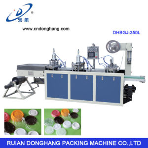 Disposable Bowl Cover Making Machine (DHBGJ-350L) pictures & photos