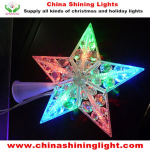 Holiday Christmas Tree Decoration Star LED Lights pictures & photos