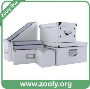 Classic White Office Storage Box / Desktop Organizer Box pictures & photos