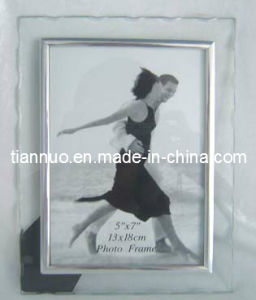 Sawtooth Glass Photo Frame