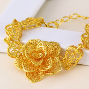 Xuping Fashion Jewelry 24k Gold Bracelet (71328) pictures & photos