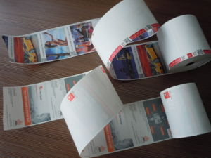OEM Printed POS Thermal Fax Paper Roll (80mm, 57mm) pictures & photos