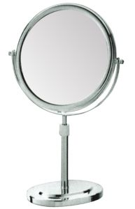 Height Adjustment 5 Times Magnification Makeup Mirror for Hotel pictures & photos