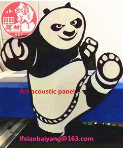100% Environmental Fiber Acoustic Panel Art Detective Panel Ceiling Panel pictures & photos