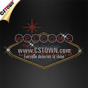 Nevada Las Vegas Classic Iron Ons Custom Wholesale Rhinestone Transfers