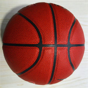 Basketball Customized Wear-Resisting Quality Cheap 8pieces PU pictures & photos