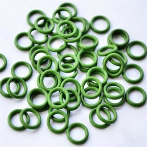 Green Viton FKM FPM Fluoro Rubber O-Rings/O Rings pictures & photos
