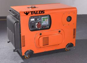 10 kVA Diesel Silent Generator 8 Kw Silent Generator (DG10000T3S) pictures & photos