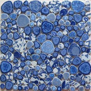 Bubble Round Porcelain Mosaic for Kitchen pictures & photos