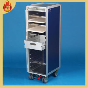 4 Wheels Aluminum Inflight Airplane Aircraft Catering Cart pictures & photos