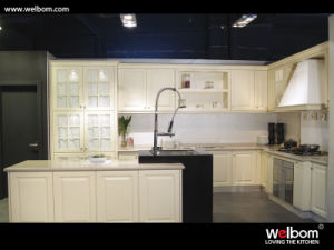 European Style PVC Kitchen Cabinet pictures & photos