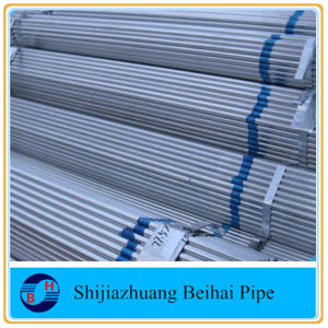 Hot Dipped Galvanized Round Steel Pipe/Gi Pipe Pre Galvanized Steel Pipe Galvanised Tube pictures & photos