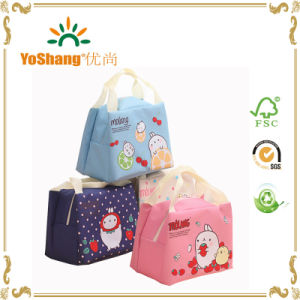 Small Portable 600d Polyester Customized Lunch Bag pictures & photos