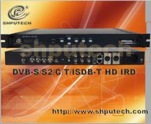MPEG-4 HD IRD (DVB-S/S2/C/T, ISDB-T IRD) (SP-R5121H)