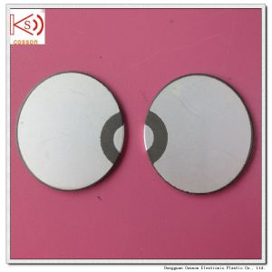 28mm 3MHz Ultrathin Piezo Ceramic Cerystal Sheet Ultrasonic Transducer pictures & photos
