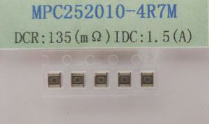 Molding Power Inductor 4.7uh 20%, IDC~1.5A, Dcr~0.135ohm pictures & photos