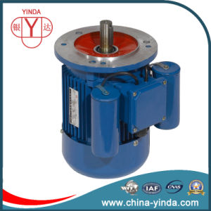 Single-Phase Aluminium Frame IP55 Motor in Versions Start+Run Capacitors pictures & photos
