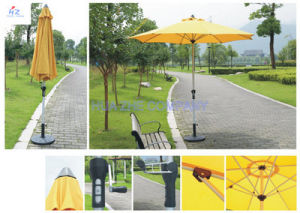 Hz-Um126 10ft (3m) Round Umbrella Crank Umbrella with Tilt Outdoor Parasol Garden Umbrella Patio Umbrella pictures & photos
