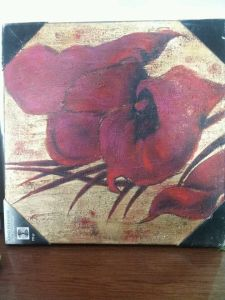 Flower Oil Painting /Oil Painting Crafts/Hand Painting/ Canvas Painting pictures & photos