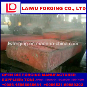 Flat Die Forging Forging Blanks Semi-Finished Products with ISO9001 pictures & photos