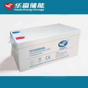 12V250ah Deep Cycle Battery Lead Acid Battery with Ce Certificate pictures & photos