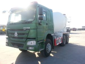 375HP HOWO 6X4 Concrete Mixer Truck in Lao (ZZ1257N4341W) pictures & photos