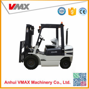 2.5 Ton Diesel Engine Automatic Transmission Forklift with Safe Overhead Guard pictures & photos