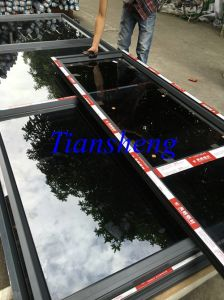 Single Glass Aluminum Fixed Window for Commercial and Residential Building pictures & photos
