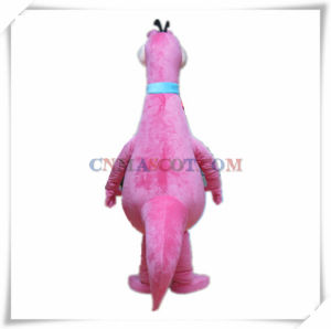 Friendly Pink Dinosaur Mascot Party Costume for Sale pictures & photos