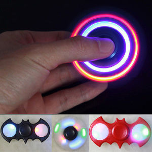 LED Tri-Spinner Fidget Toy EDC Hand Finger Spinner pictures & photos