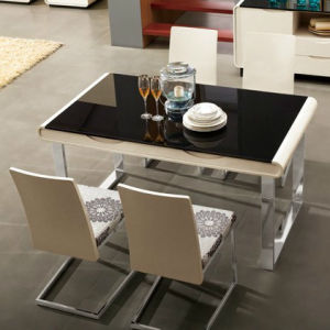 Modern Home Furniture Tea Table Wooden Dining Table (WLF-DT008)