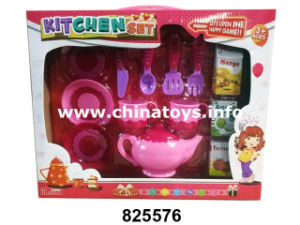 Educational Toys Kitchen Set, Cooking Tea Toy (825574) pictures & photos