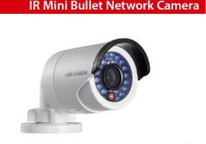 Hikvision Waterproof 3MP Mini Network IR Bullet Camera Poe IP Camera (Ds-2CD2032-I) pictures & photos