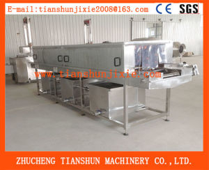Automatic Steam Heating Plastic Crate Washing Machine Tsxk-6 pictures & photos